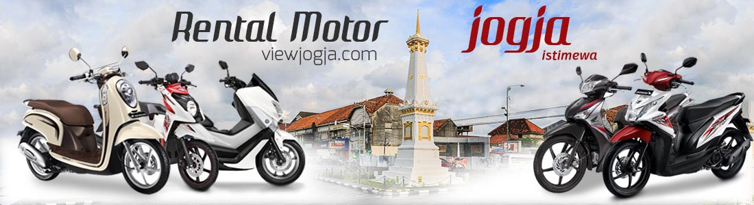 sewa motor jogja, rental motor jogja, rental motor murah terpercaya, ViwJogja