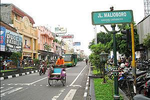 Pasar di Jalan Malioboro