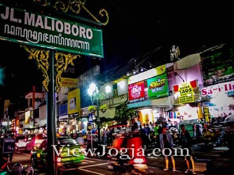 Pasar Malam Malioboro Yogyakarta