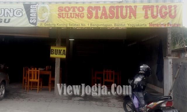 Soto Sulung Stasiun Tugu Jogja