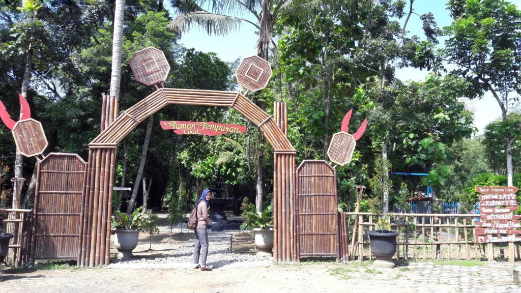 Taman Tempuran Cikal Bantul Jogja