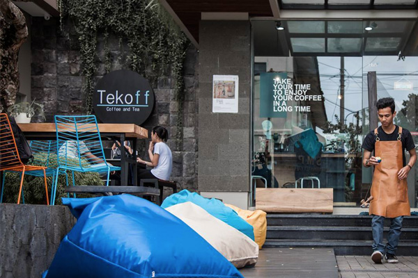 Takeoff Coffee and Tea Yogyakarta