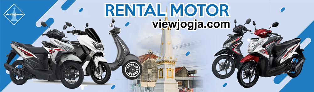 Banner Sewa Motor Jogja Viewjogja.com
