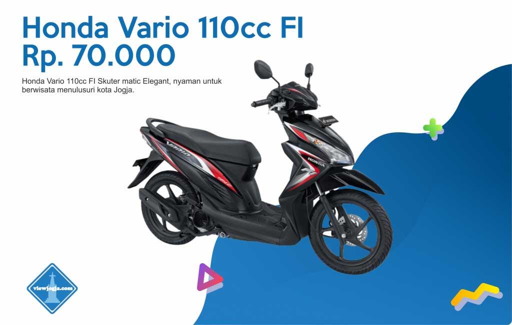 Harga Sewa Motor Jogja New Honda Vario 110cc FI di ViewJogja